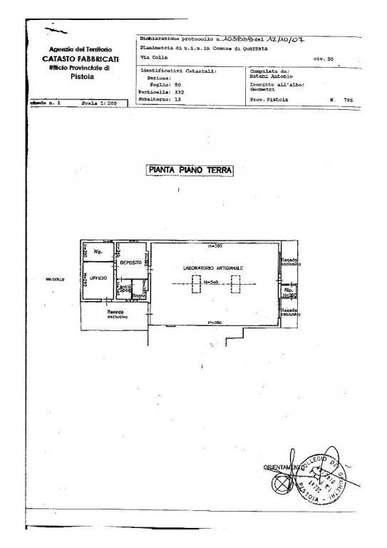 Magazzino - capannone in buone condizioni in vendita Rif. 4058017
