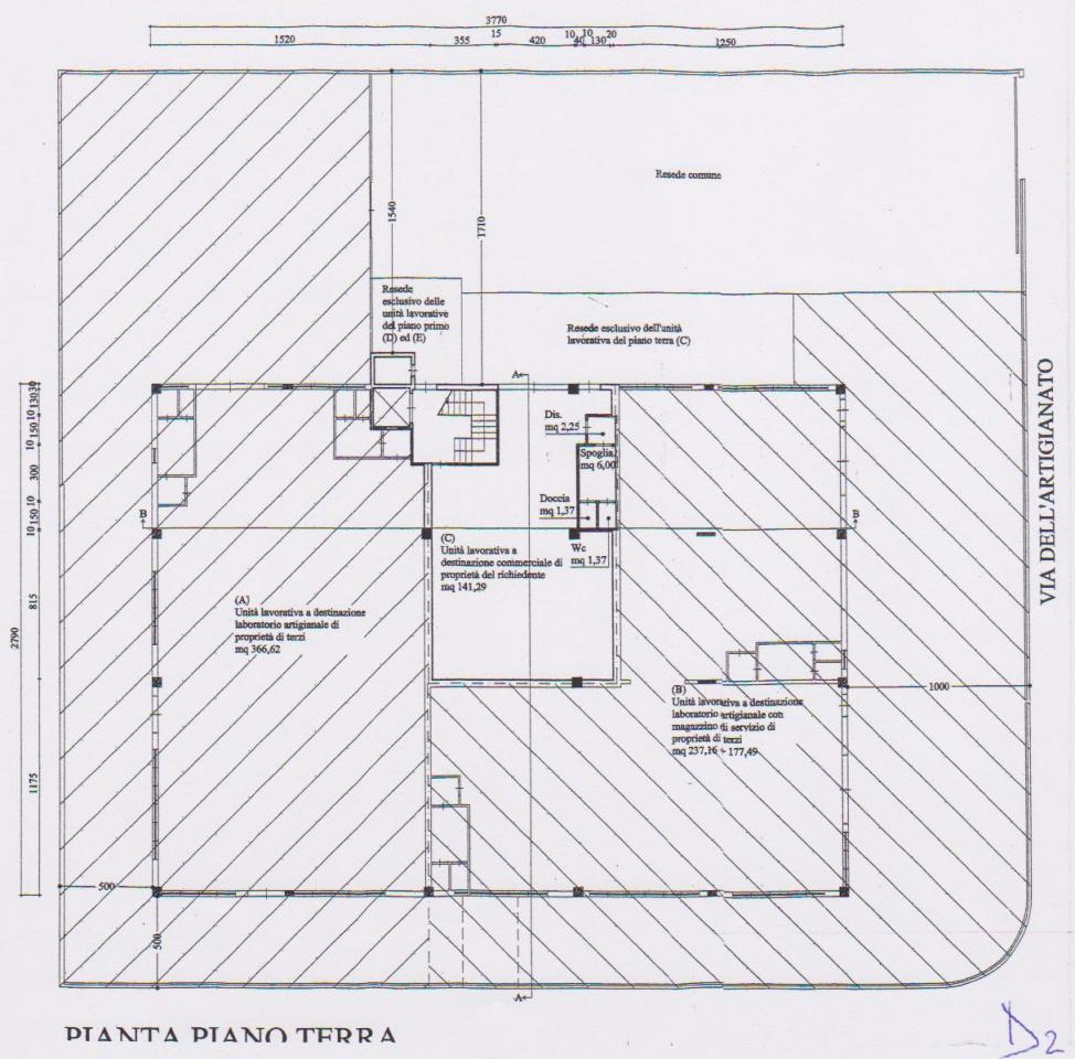 Capannone Industriale MONTELUPO FIORENTINO F123