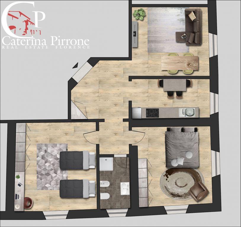 Appartamento in vendita a Firenze, 5 locali, zona Zona: 15 . Campo di Marte, Pagano, Amendola, Paolo Sarpi, Arena, prezzo € 240.000 | Cambio Casa.it