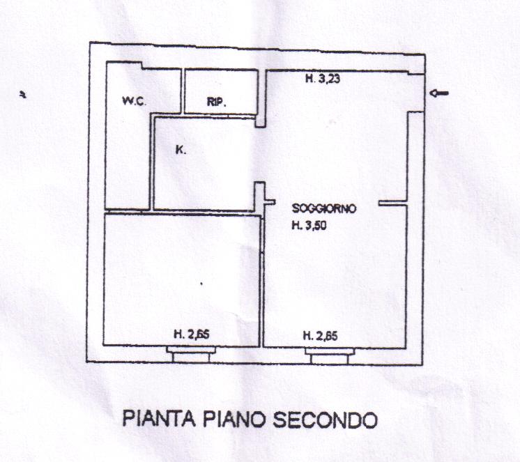 Bilocale Grosseto Via San Martino 1
