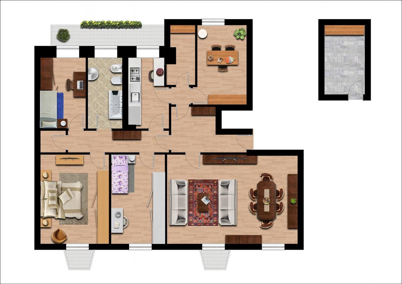 livorno vendita quart: centro agenzia immobiliare daidone di massimo daidone