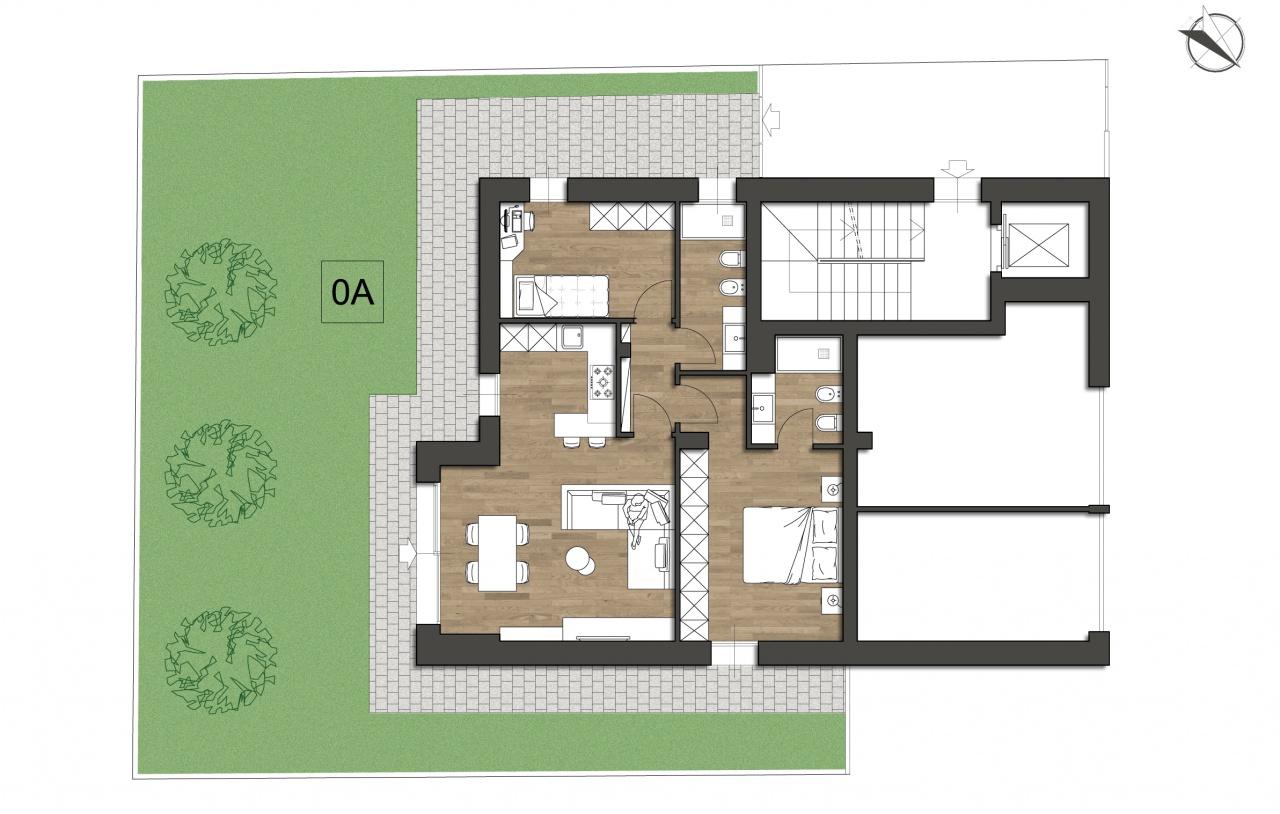 Appartamento trilocale in vendita a Riccione (RN)