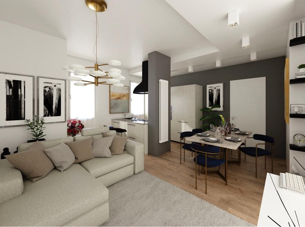 Appartamento ristrutturato arredato in vendita Rif. 12355509