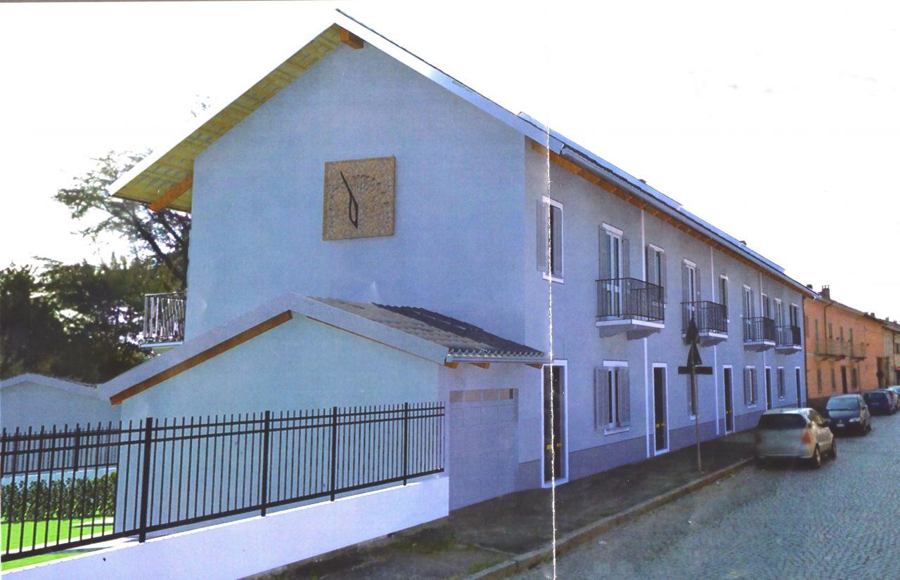 IN PICCOLO COMPLESSO IMMOBILIARE DI PROSSIMA REALIZZAZIONE, ALL&#039; INTERNO DEL COMUNE DI SALUGGIA (VC), PROPONIAMO IN VENDITA QUATTRO ABITAZIONI INDIPENDENTI.<br /> <br /> www.2fimmobiliare.com