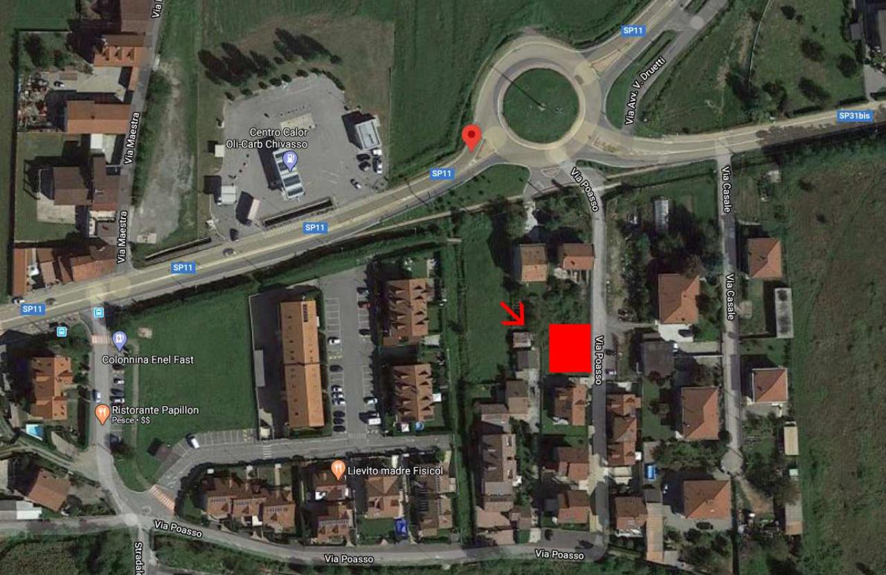 Terreno Edificabile Comm.le/Ind.le in vendita a Chivasso, 10 locali, prezzo € 65.000 | PortaleAgenzieImmobiliari.it