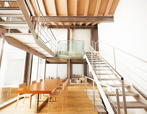Loft / Openspace in vendita a Bergamo, 7 locali, prezzo € 630.000 | PortaleAgenzieImmobiliari.it