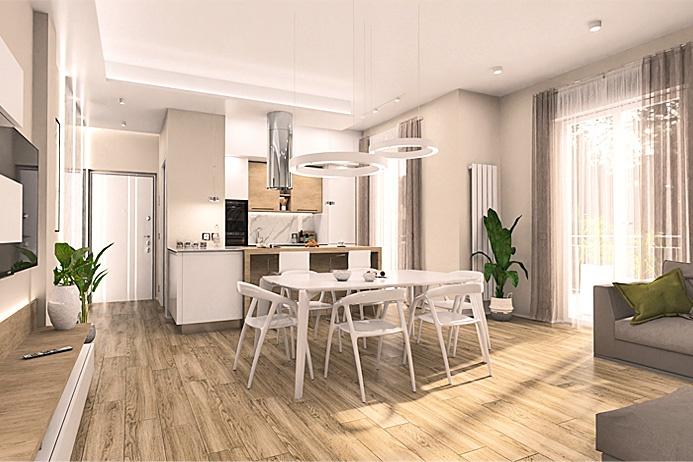 Appartamento in vendita a Treviolo, 4 locali, prezzo € 178.000 | PortaleAgenzieImmobiliari.it