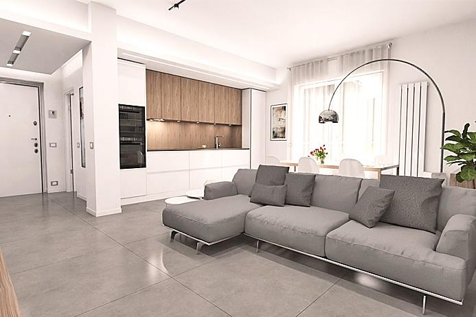Appartamento in vendita a Torre Boldone, 4 locali, prezzo € 174.000 | PortaleAgenzieImmobiliari.it