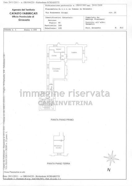 Vendita  bilocale Grosseto Via Crispi 1 885840