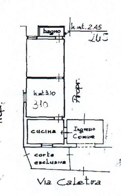 Bilocale Grosseto Via Caletra 5
