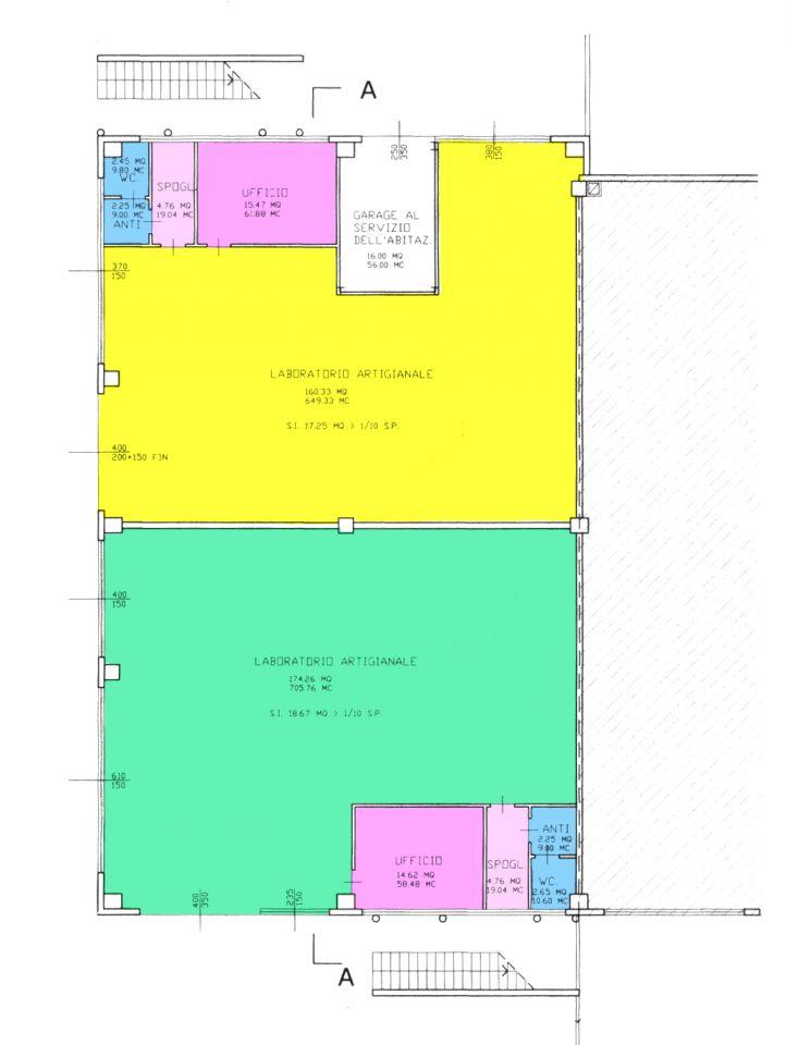 Magazzino - capannone in ottime condizioni in vendita Rif. 8891367