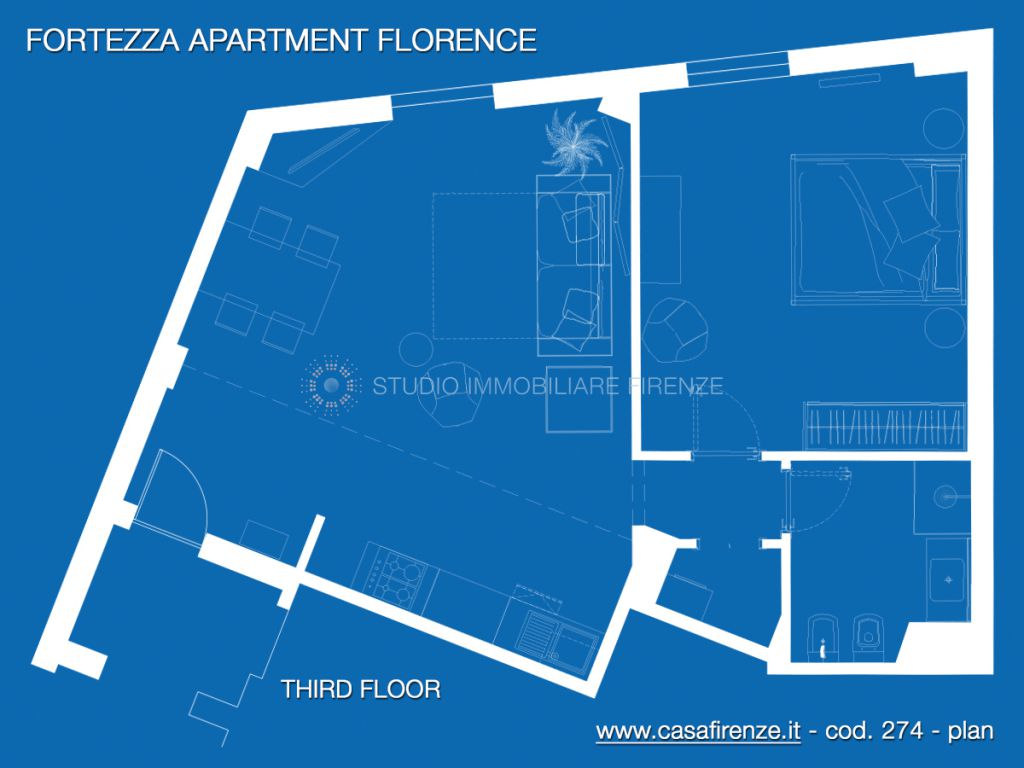 Bilocale Firenze Viale Belfiore 2