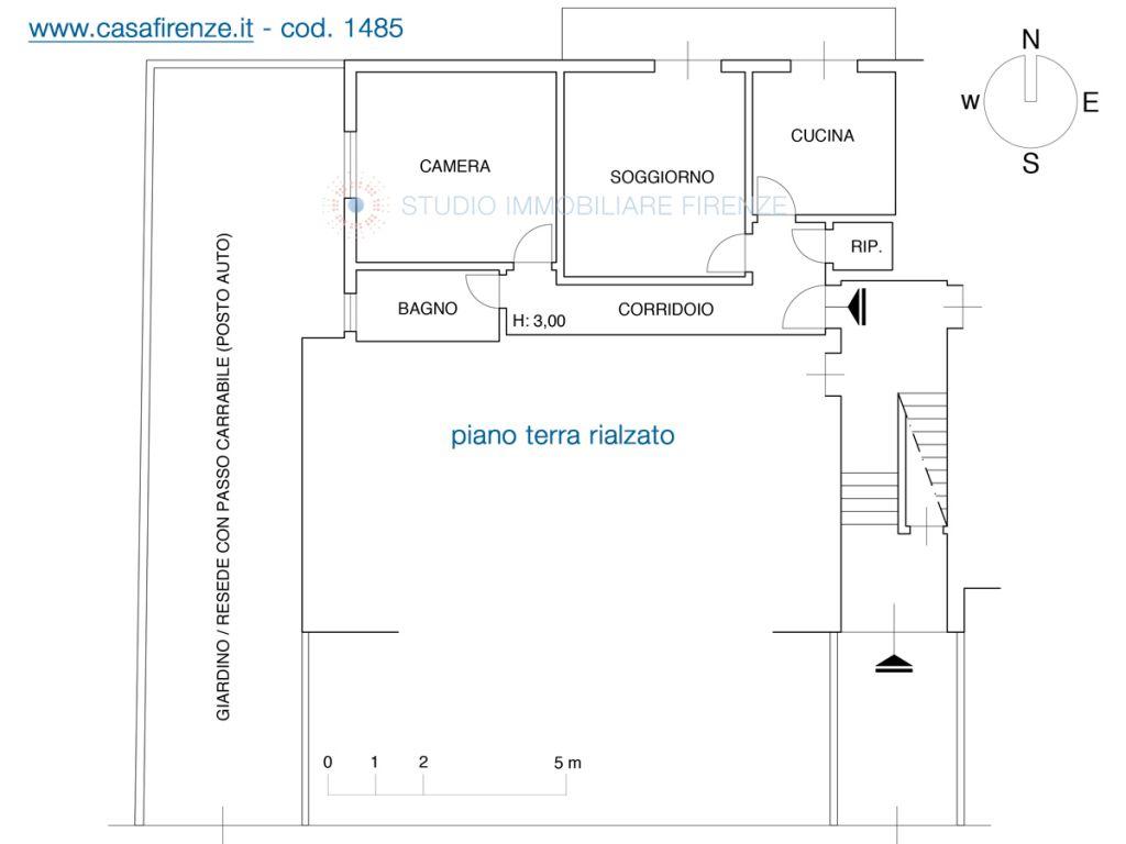 Vendita  bilocale Scandicci Via Generale Volpini 1 1078061