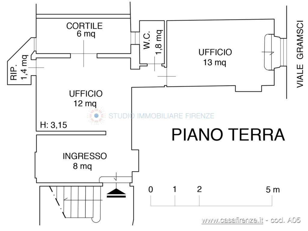 Affitto  bilocale Firenze Viale Gramsci 1 1083322
