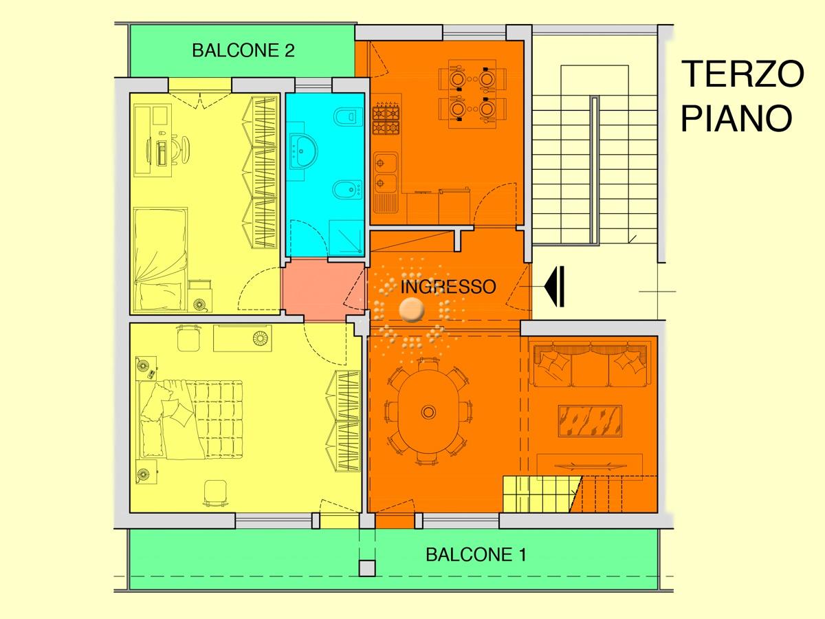 Appartamento da ristrutturare in vendita Rif. 9909050
