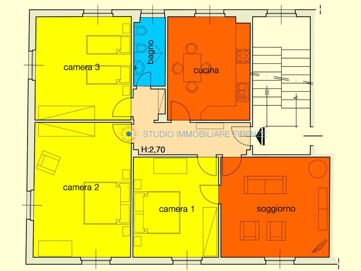 Appartamento in buone condizioni in vendita Rif. 10021333