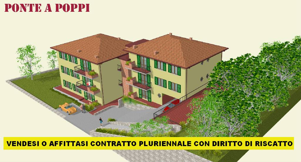 Bilocale Poppi Via Trento 2