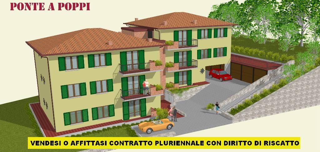 Bilocale Poppi Via Trento 3