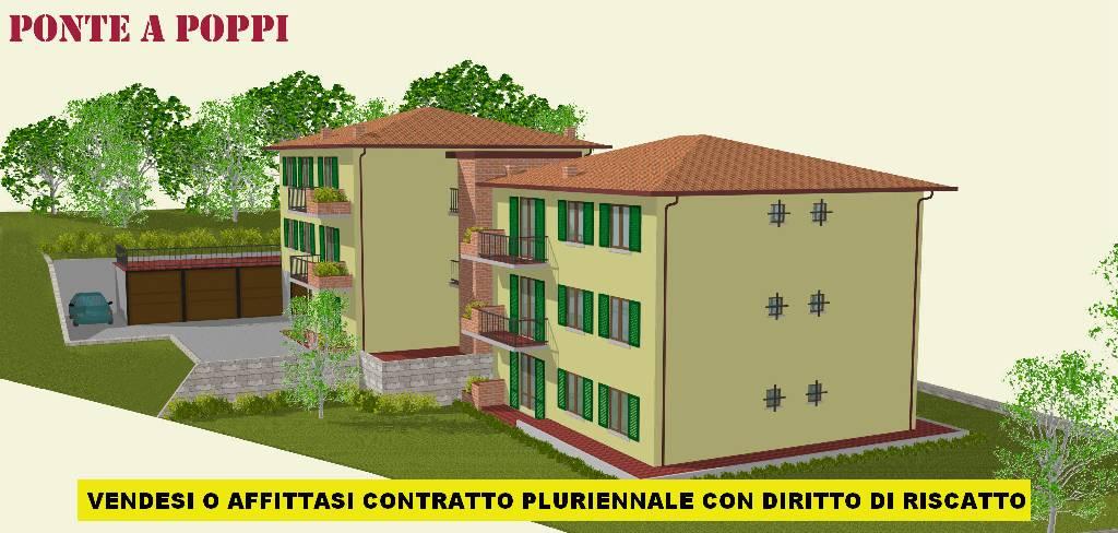Bilocale Poppi Via Trento 4