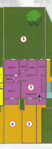 Appartamento CASTEL FOCOGNANO 113C