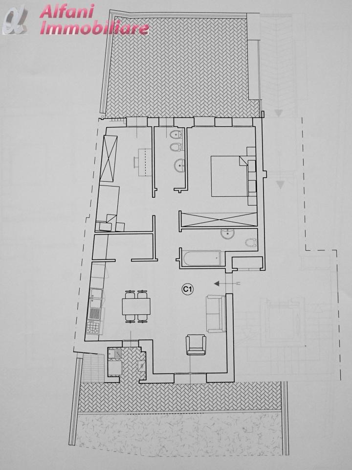 Appartamento trilocale in vendita a Bibbiena (AR)-12