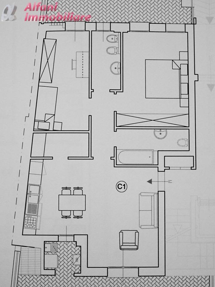 Appartamento trilocale in vendita a Bibbiena (AR)