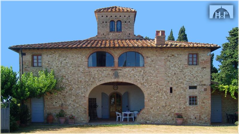 Immobile Turistico in affitto a Barberino Val d'Elsa, 2 locali, zona Zona: Marcialla, Trattative riservate | Cambio Casa.it