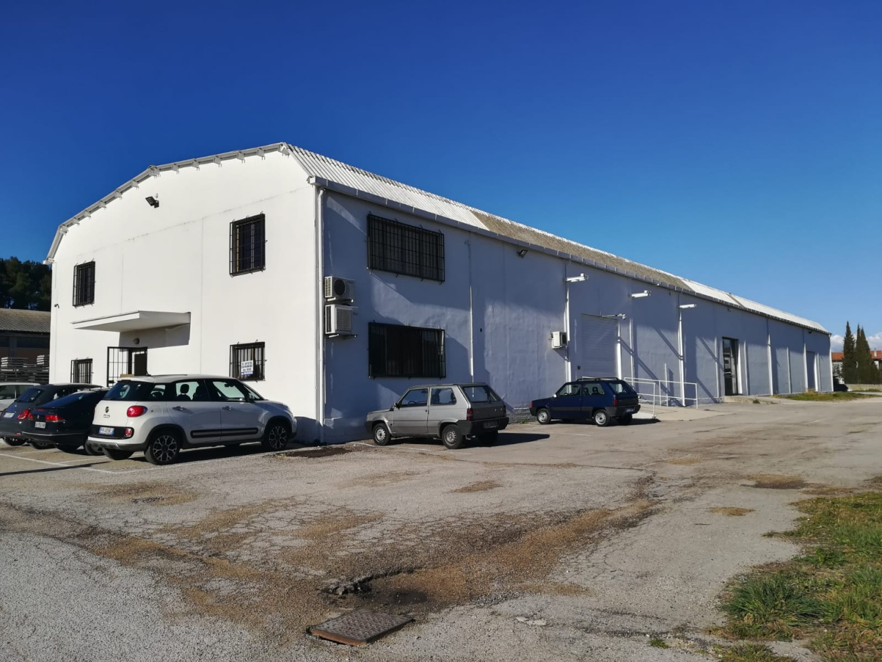 Affitto Capannone Industriale COLLECORVINO
