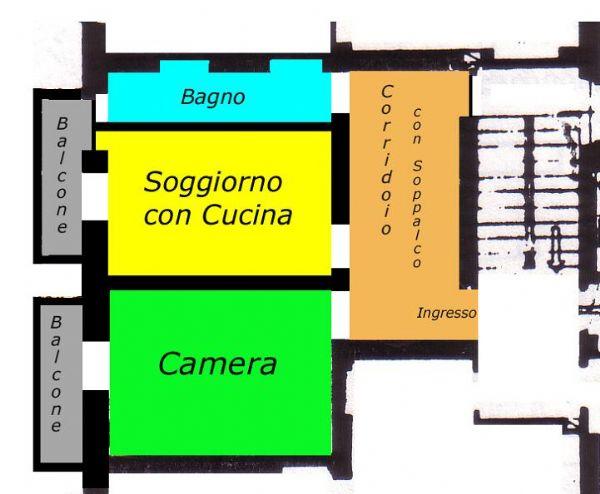 Vendita  bilocale Milano Via Delfico 1 886698