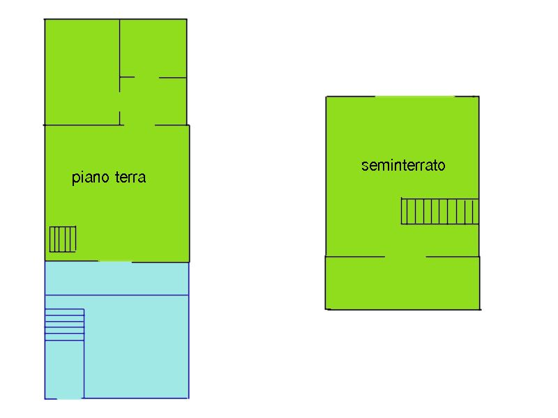 Bilocale Castellina Marittima  2