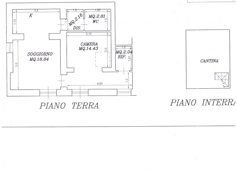 Appartamento SANTA LUCE R0226