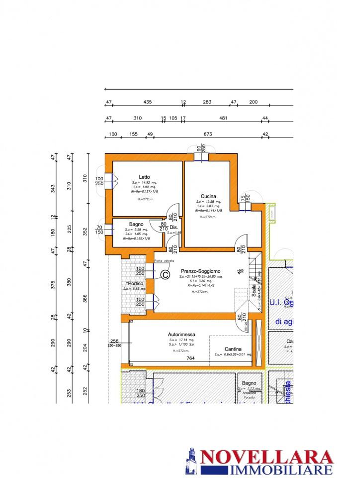Villa a schiera CAMPAGNOLA EMILIA RN1-445