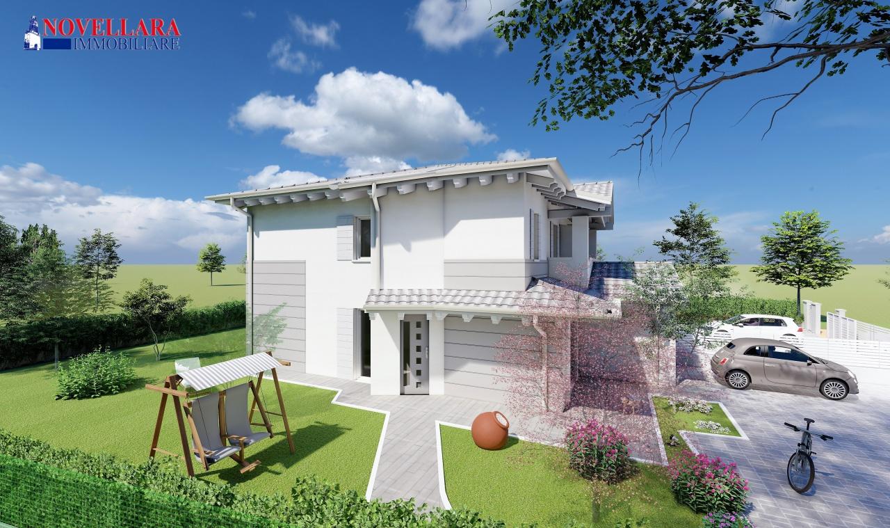 Villa singola CAMPAGNOLA EMILIA RC3-564
