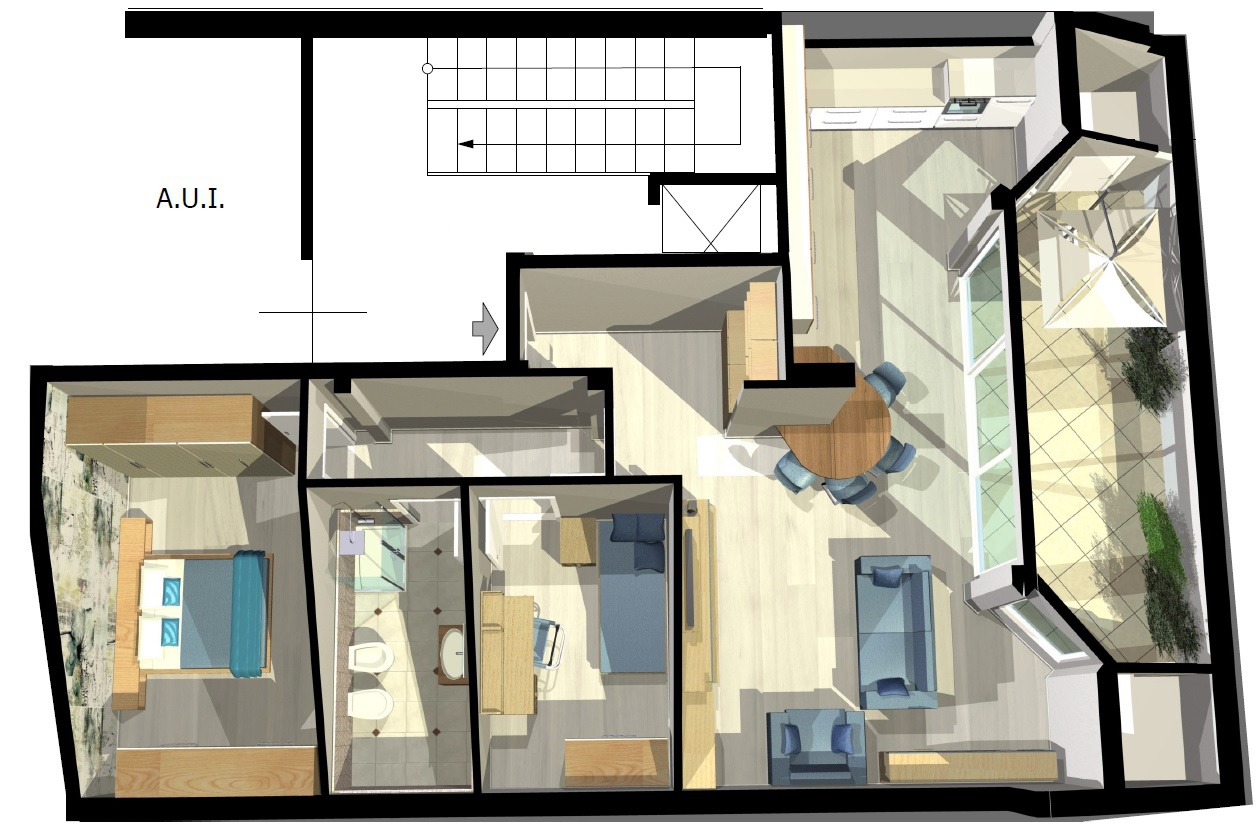 Appartamento in vendita a Treviglio, 3 locali, prezzo € 190.000   PortaleAgenzieImmobiliari.it
