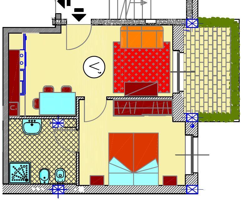Appartamento in vendita a San Giorgio Piacentino, 2 locali, zona Località: SAN GIORGIO, prezzo € 70.000 | Cambio Casa.it