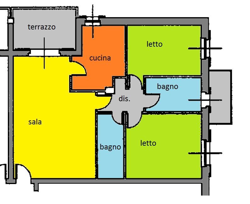 Appartamento in ottime condizioni in vendita Rif. 11359108