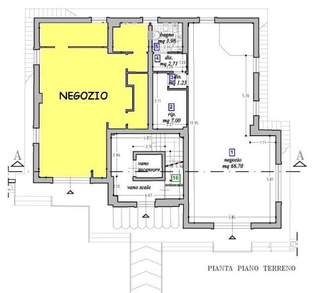 Attività / Licenza in vendita a Capannori, 1 locali, zona Località: SAN LEONARDO IN TREPONZIO , prezzo € 165.000 | Cambio Casa.it