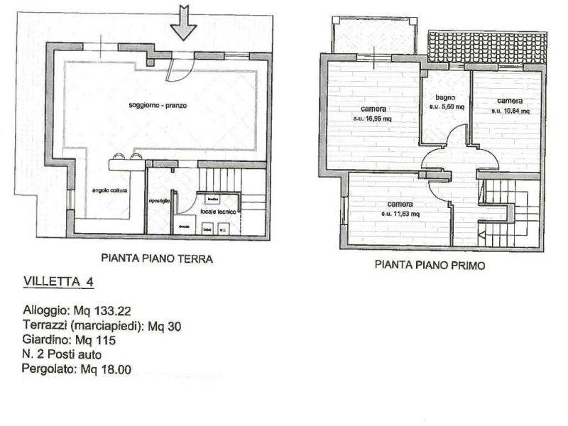 Villa a schiera ALTOPASCIO 3980-VH