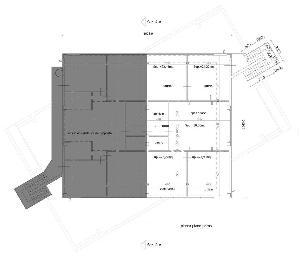 Ufficio / Studio in affitto a Porcari, 5 locali, Trattative riservate | CambioCasa.it