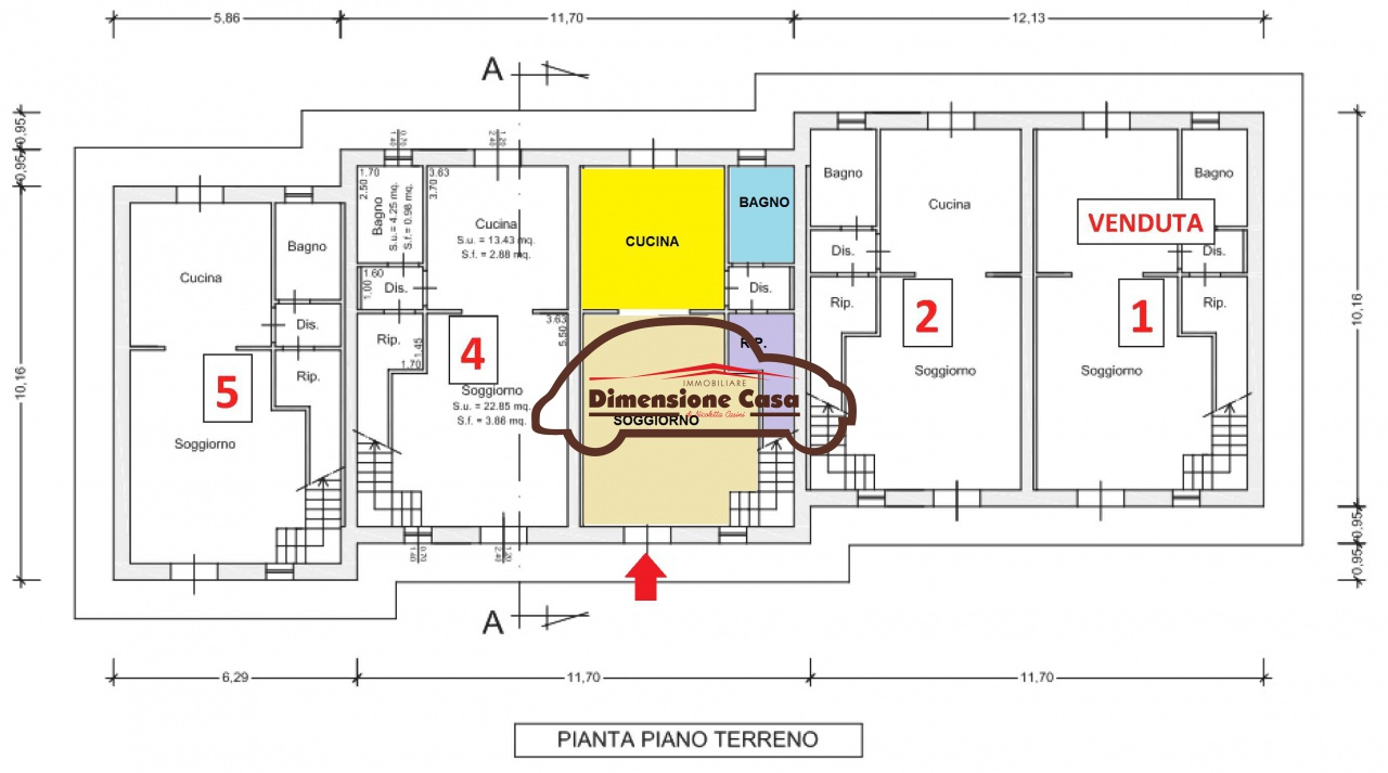 Villa a schiera PORCARI 5069-VH