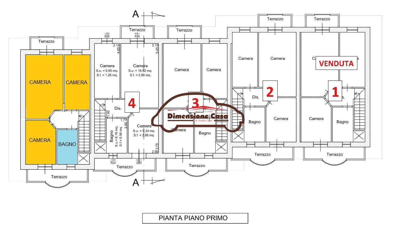 Villa a schiera PORCARI 5070-VH