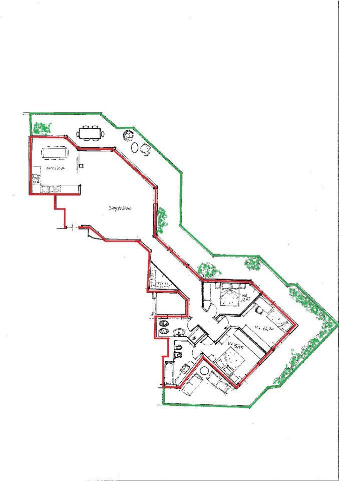 vendita appartamento sarzana   340000 euro  5 locali  133 mq