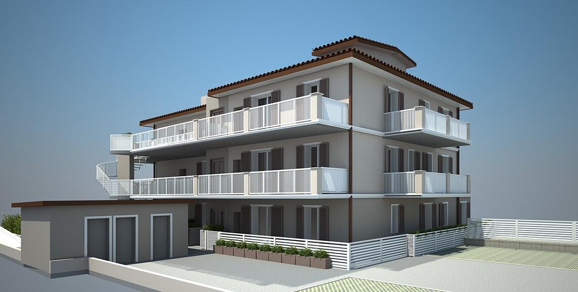 Appartamento in vendita a Montignoso, 4 locali, prezzo € 345.000 | PortaleAgenzieImmobiliari.it