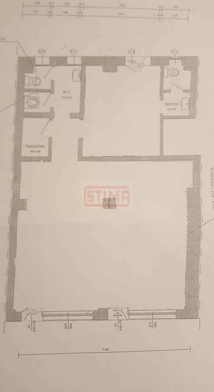 affitto locale commerciale treviso centro storico  1300 euro  100 mq