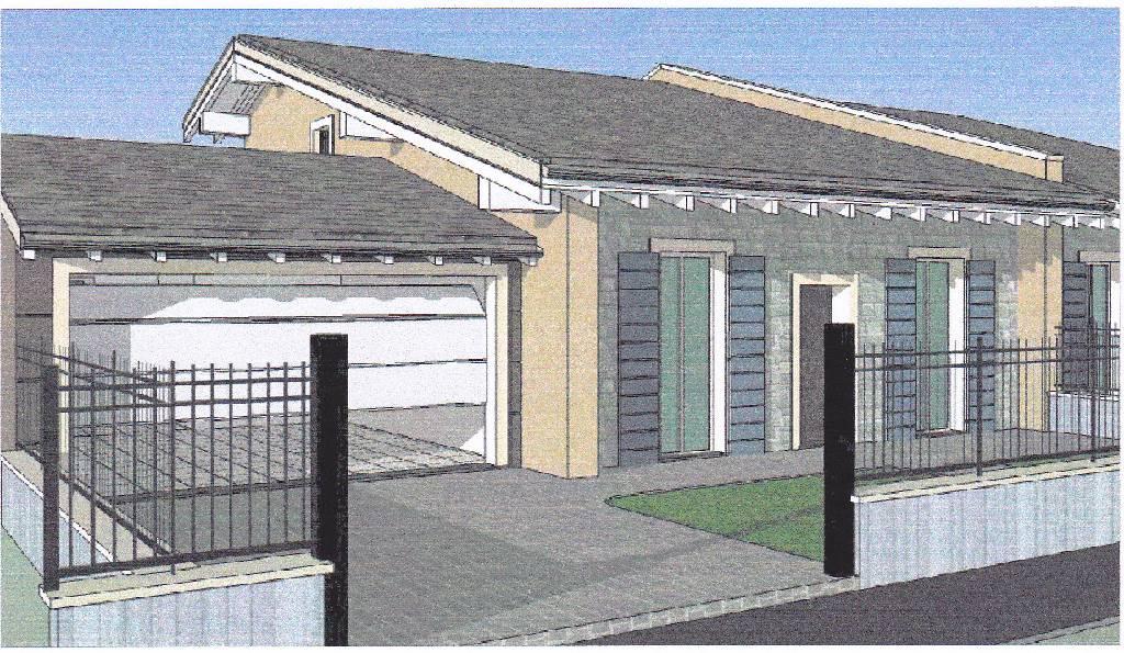 Villa bifamiliare quadrilocale in vendita a corzano for Case a un piano progetti