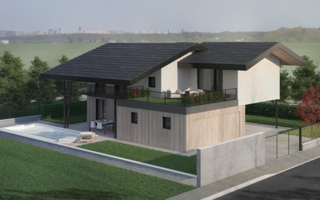 Villa in vendita a Capriano del Colle, 5 locali, prezzo € 460.000 | CambioCasa.it