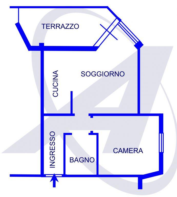 Bilocale Rapallo Via San Domenico 2