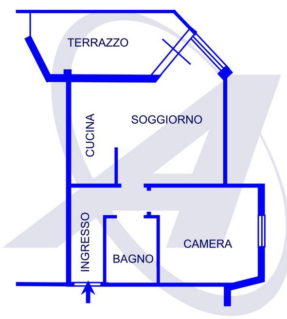 Vendita  bilocale Rapallo Via San Domenico 1 990071