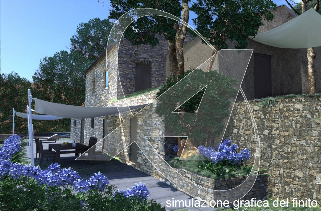 Rustico/Casale/Corte in Vendita ZOAGLI