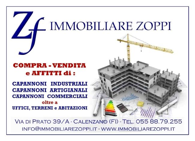 CAPANNONE/LABORATORIO ARTIGIANALE CON UFFICI PRATO LOC. LA MACINE